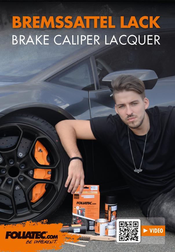 Brake Caliper Lacquer